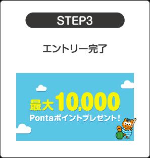 STEP3 エントリー完了