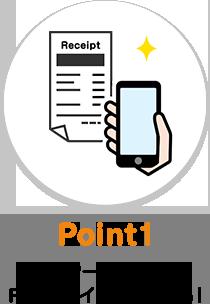 Point1 レシート投稿でPontaポイントがたまる!