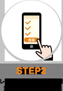 STEP2 ポイント情報と決済方法を選択して投稿