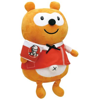 KFCポンタ 30cm ぬいぐるみ
